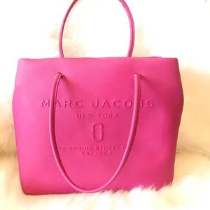 Marc Jacobs Leather Pink Tote